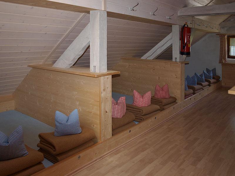 Matratzenlager  Zimmer & Lager - Kemptner Hütte